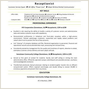 Resume Template for Secretary Resume Sample Administrative Secretary Valid Nurse assistant