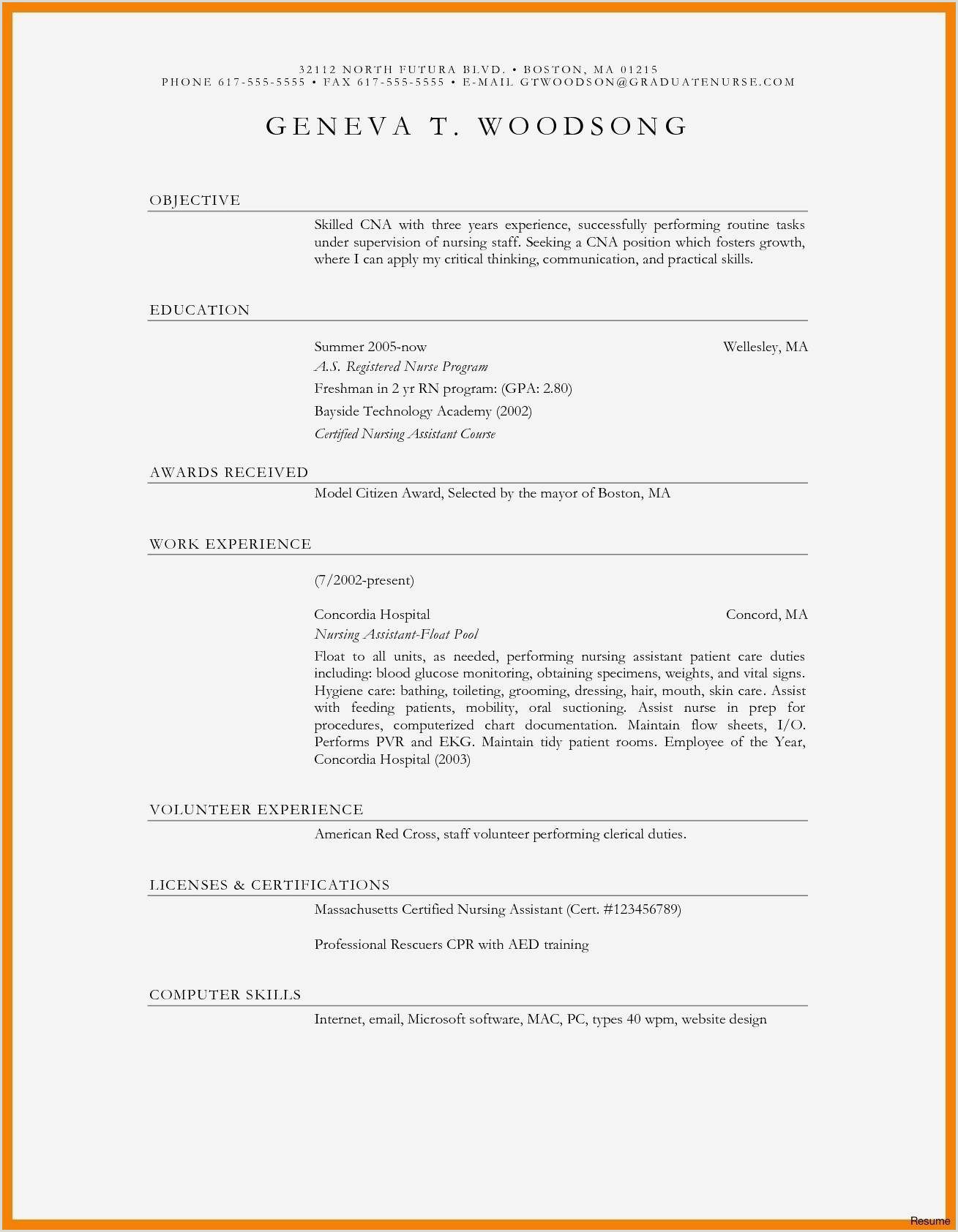 Cv Libre fice Le Luxe New Blank Resume format Resume