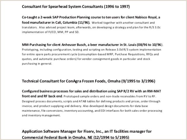 Parchance Cv Collections De 8 Job Resume format Xenakisworld