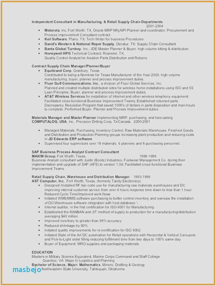 Production Worker Resume Sample Luxury Production Worker