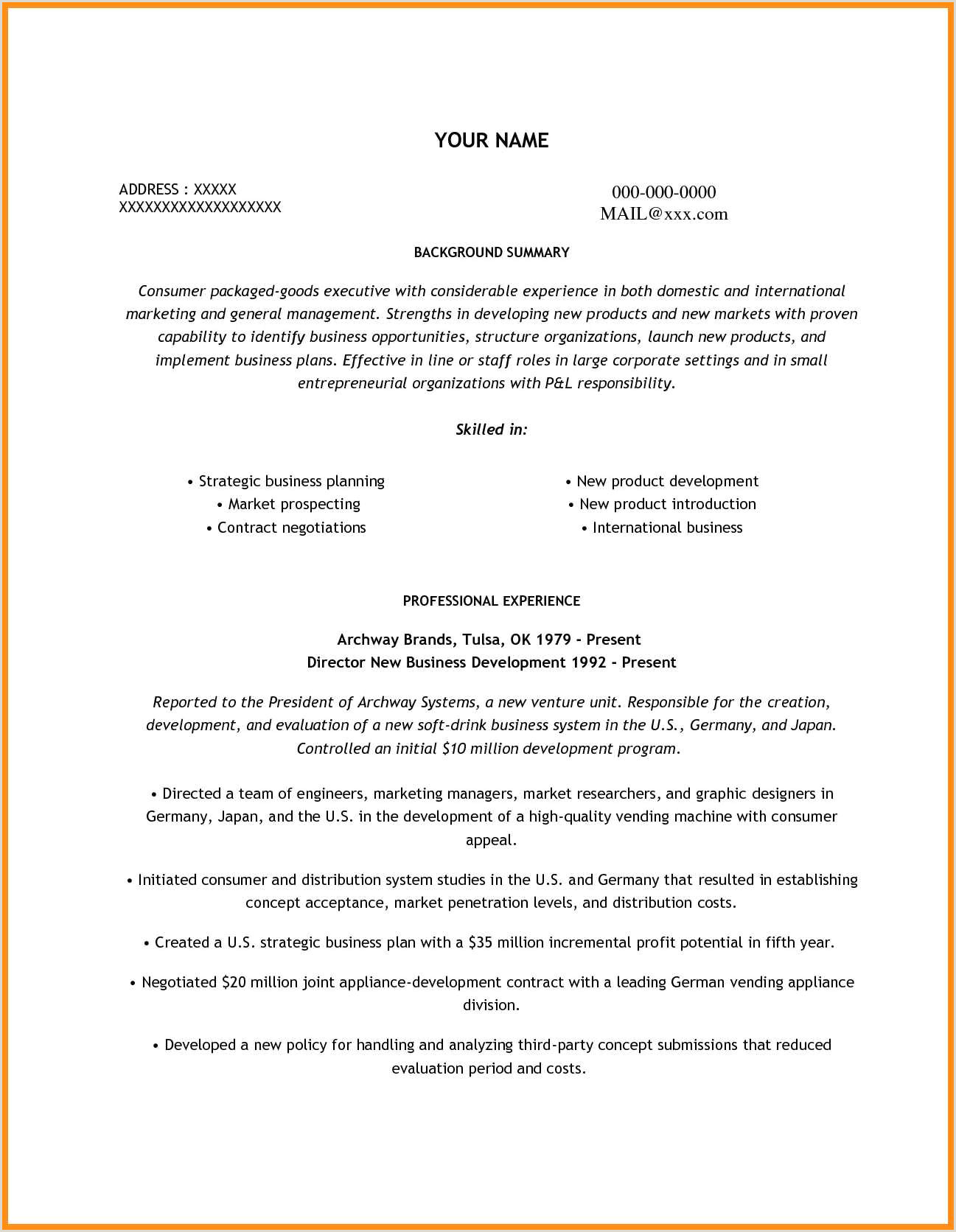 Resumes for Fast Food 10 Resume for Fast Food Cashier