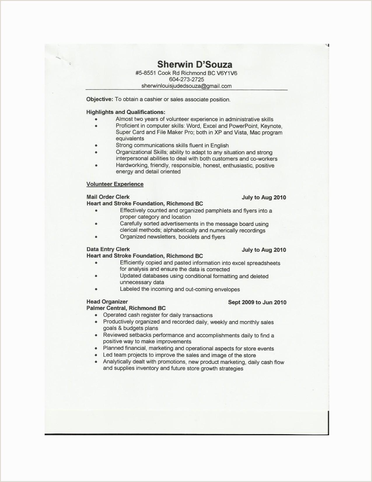 10 Retail Sales Associate Resume Samples