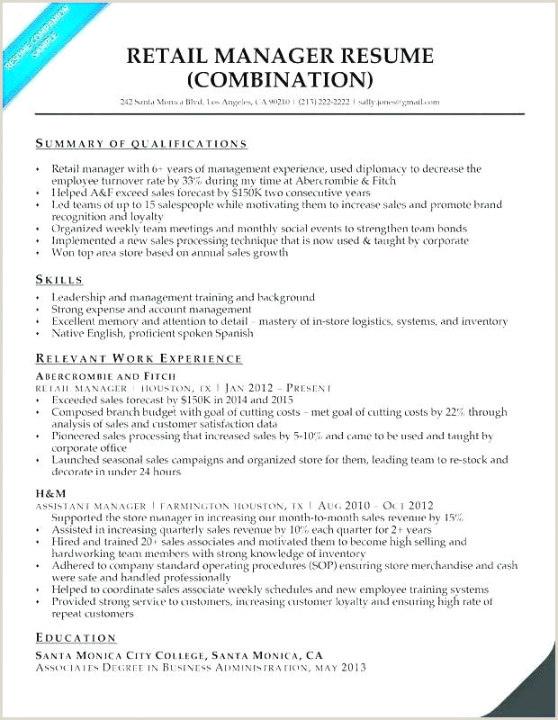 store manager resume template – caseyroberts