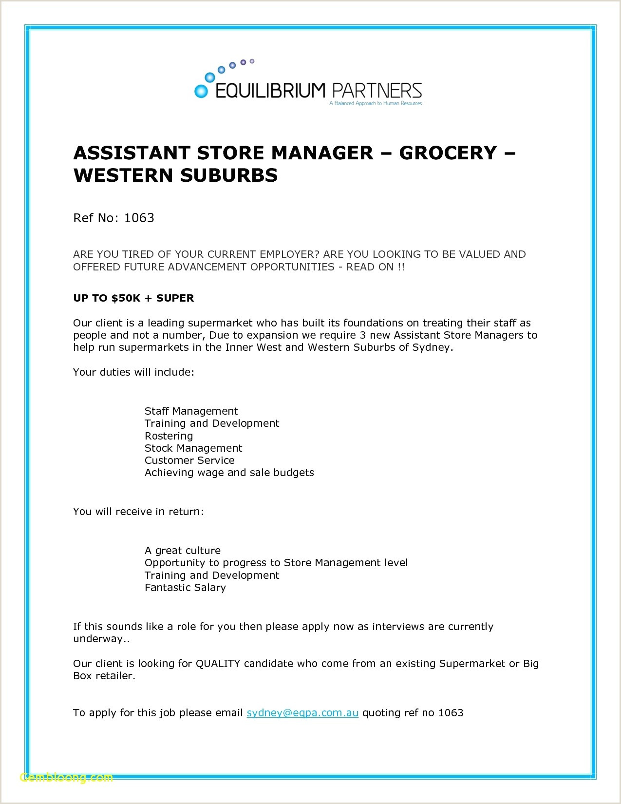 Retail General Manager Resume New Best Retail Resume