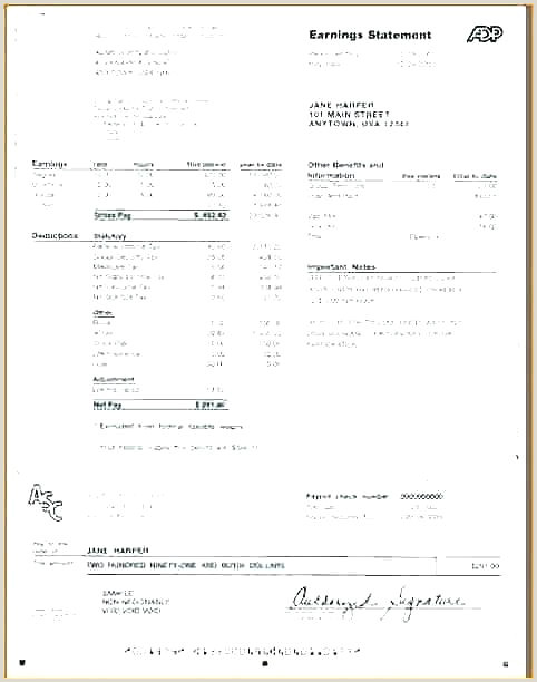 Retained Earnings Statement Template Earnings Statement Template