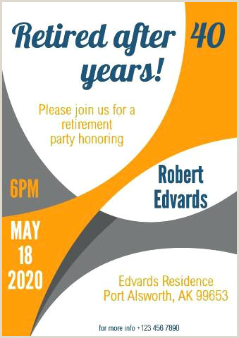 Retirement Party 1 Poster Template Happy – jonandtracy