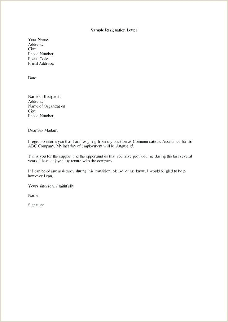 Retirement Letter Sample Simple Retirement Letter