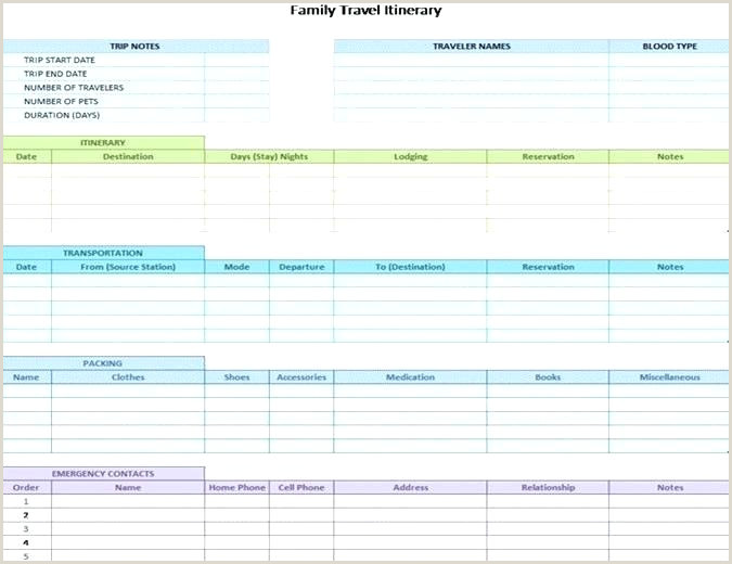 Road Trip Planning Template Business Travel Itinerary Template 8 Free Word Excel tour