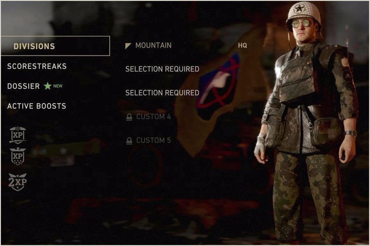 Call of Duty WW2 Divisions What division to join choosing