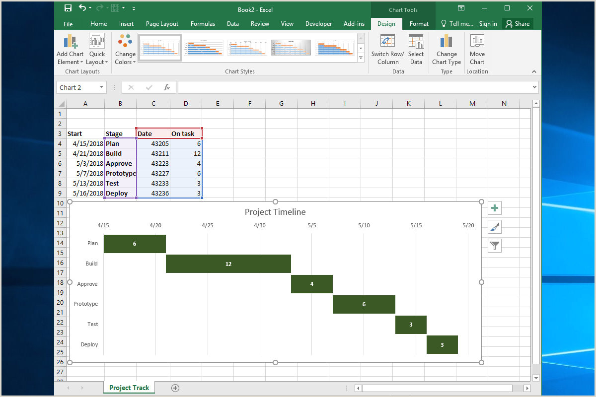 Rolling Action Item List 10 Spiffy New Ways to Show Data with Excel
