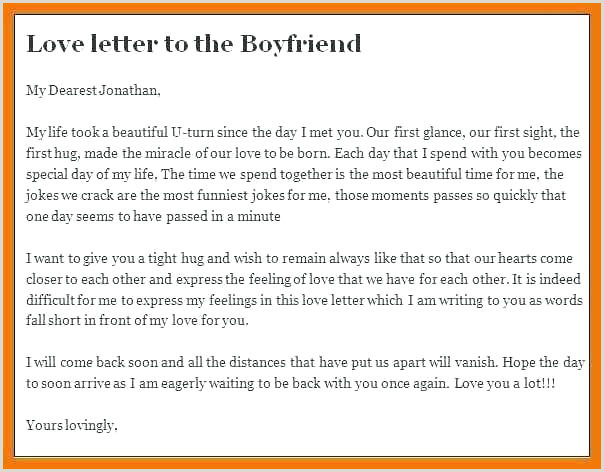 My Love Letter To Him Ideas For Boyfriend Notes – csponline