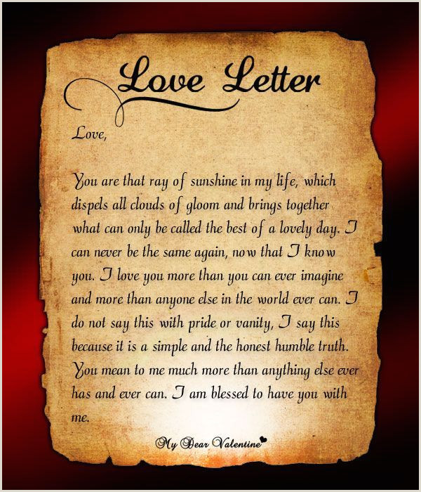 Romantic Letter to Boyfriend Love Letter §¥n is My Eternal Love