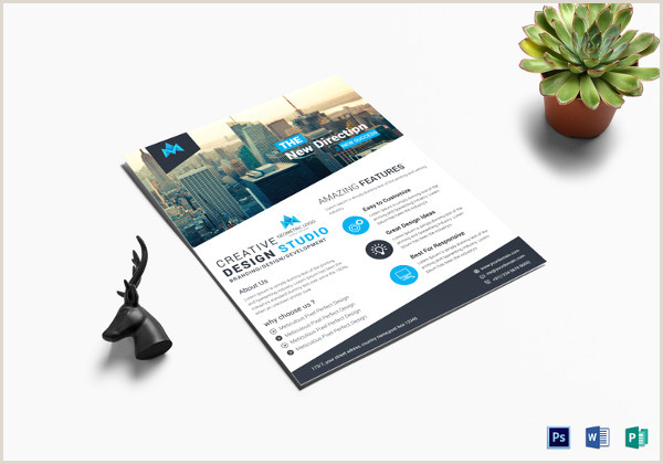 25 Fabulous Free Business Flyer Templates InDesign Word