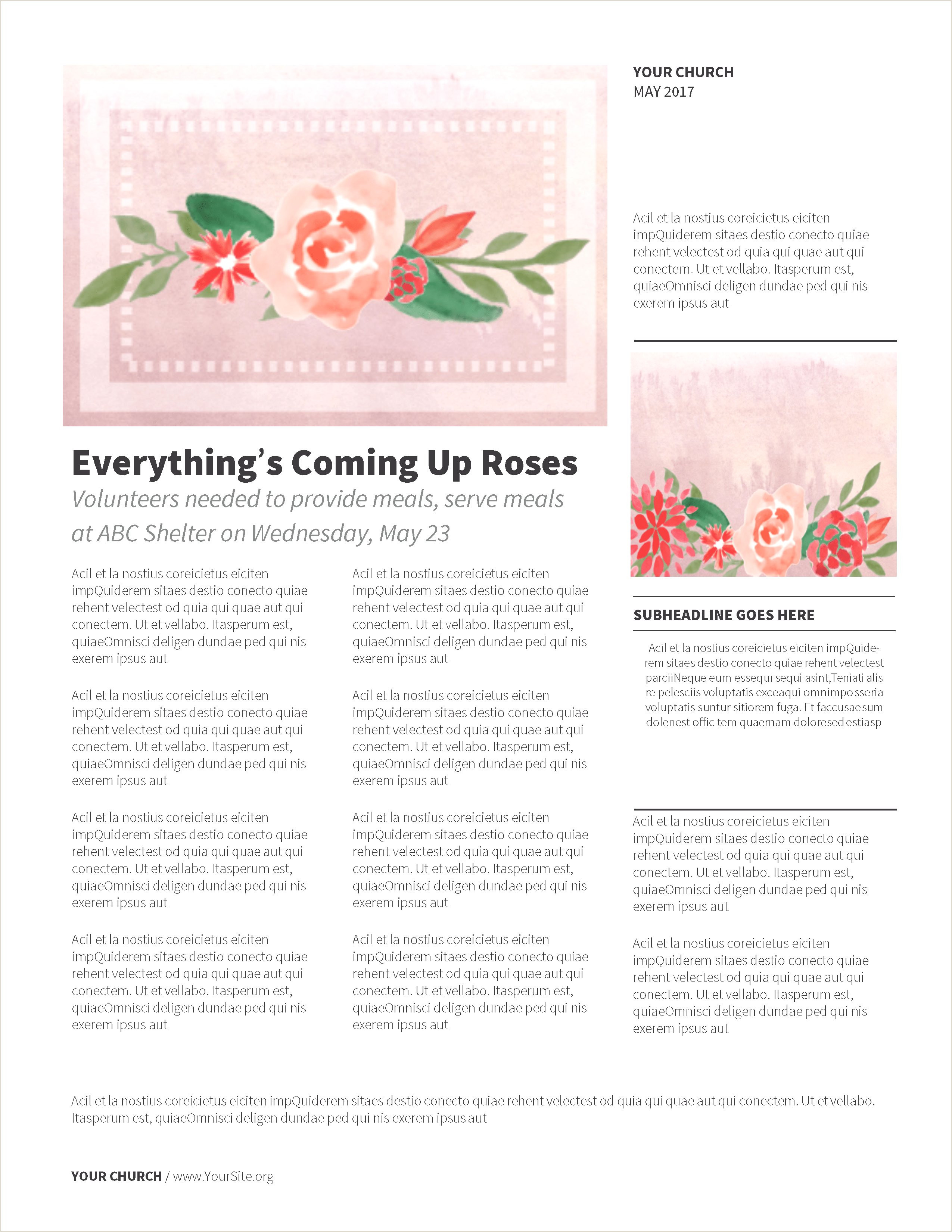 Rose Flower Powerpoint Backgrounds Cool Bootstrap 4 Template
