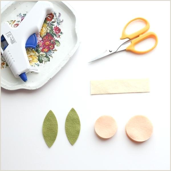 Rose Petal Templates Free Paper Flower Cricut Felt Tutorial