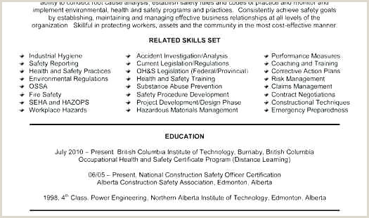 Safety Officer Fresher Cv format Good Resume Templates for Freshers – Hayatussahabah