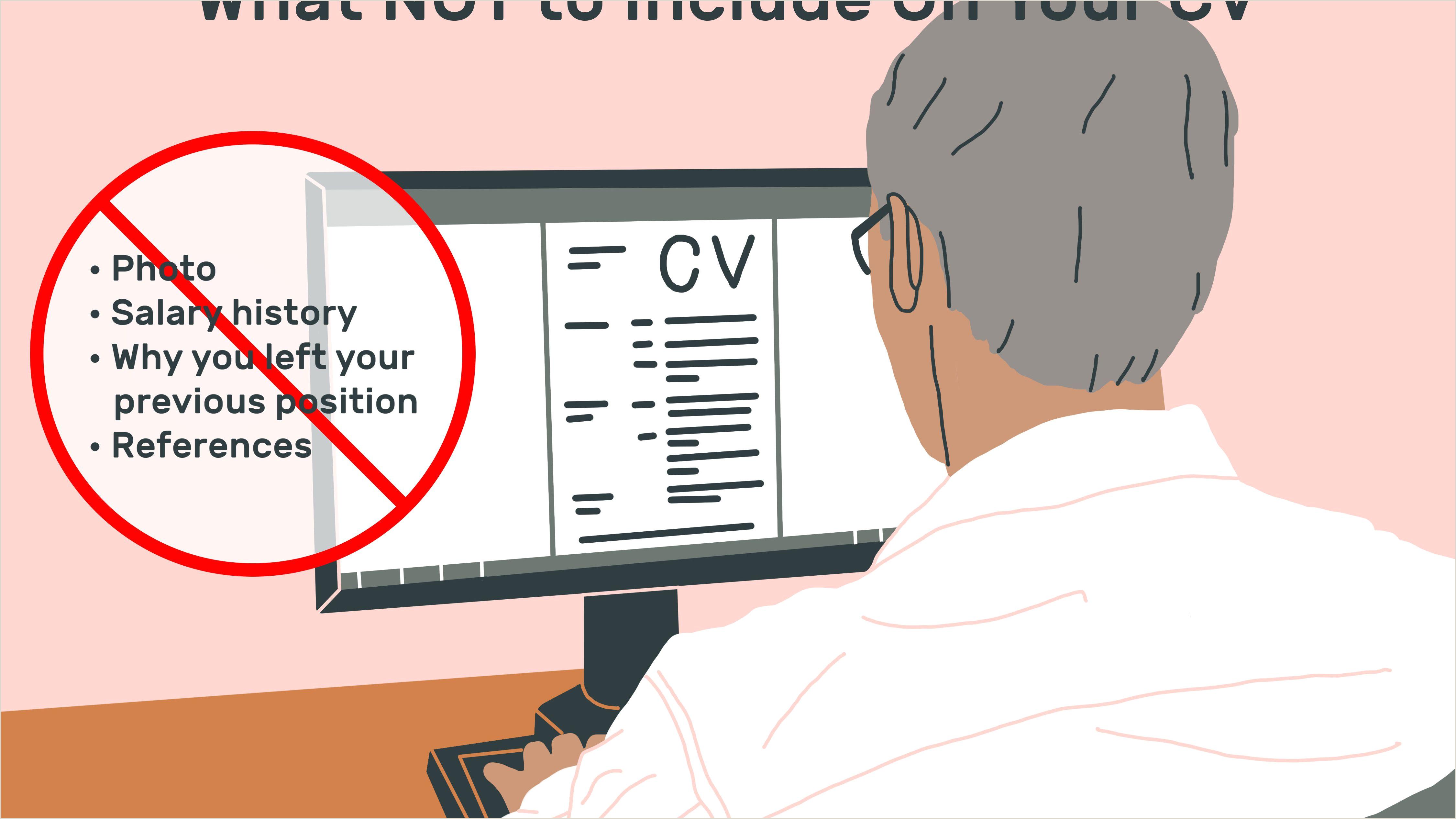 Salary History Template Microsoft Curriculum Vitae Cv Samples and Writing Tips