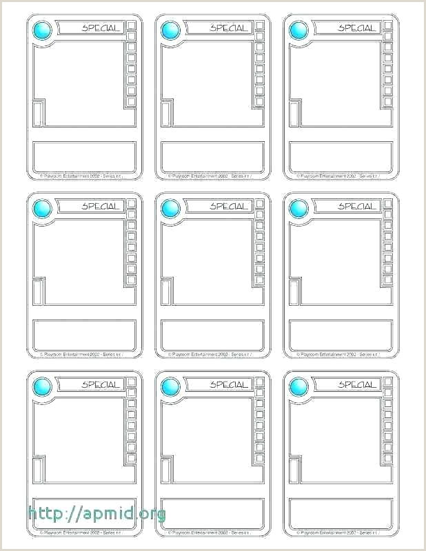 Trading Card Template Free Salary Slip Templates Download