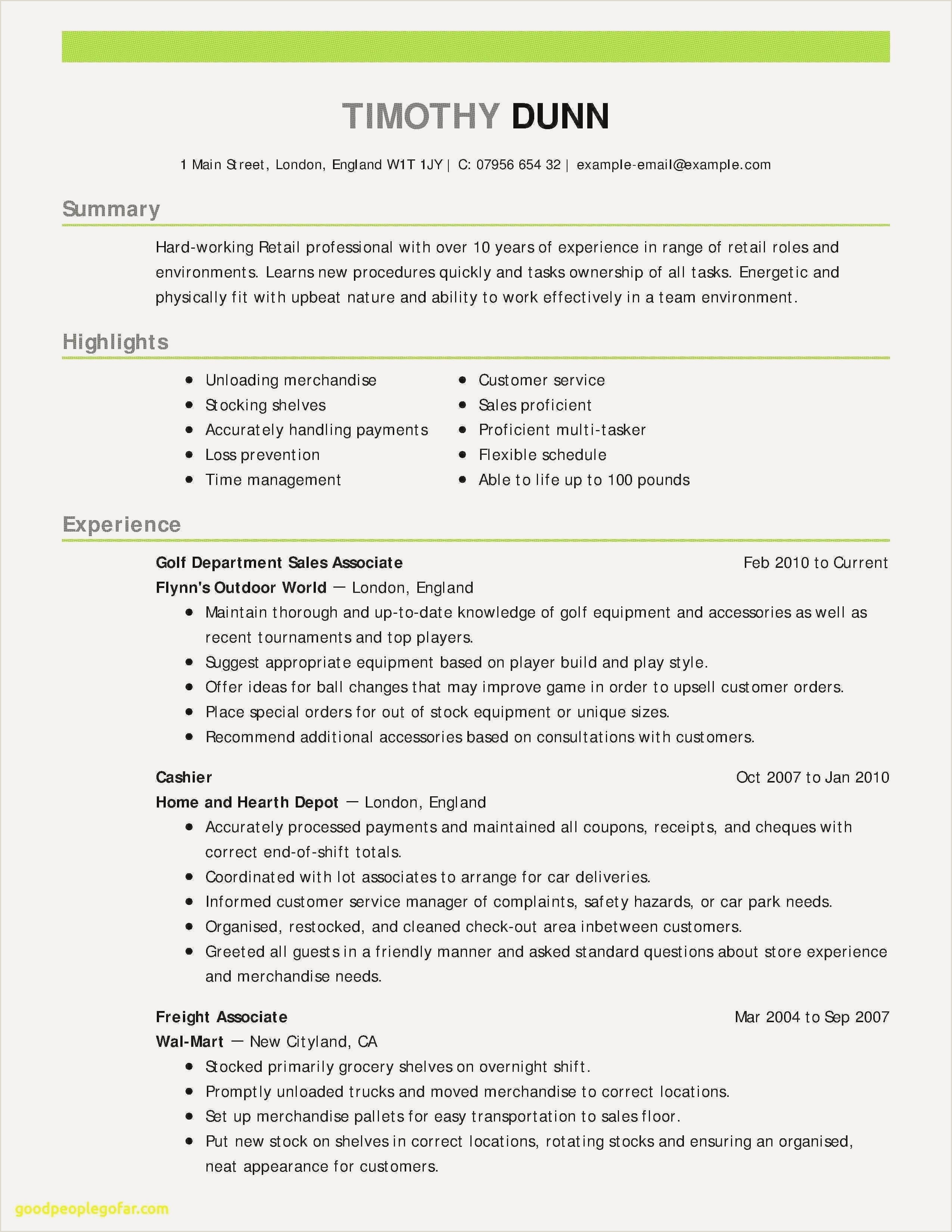 78 Beautiful Stock Resume Examples for Sales Support