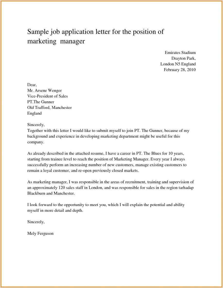 Sales Job Covering Letter Sample Motivation Letter for Job Application Cover Fresh
