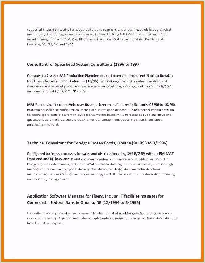 Resume for Retired Person Sample Greatest 9 10 Resume for