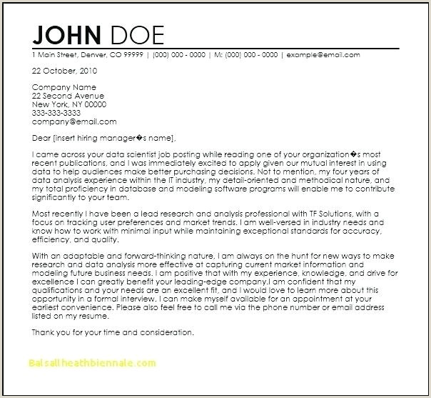 Sales Manager Cover Letter Sample Job Well Done Email