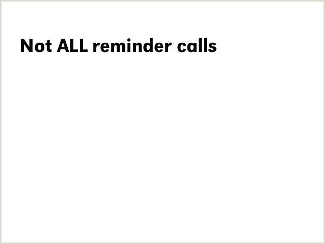The Effective Appointment Reminder Call Template Tips Appt