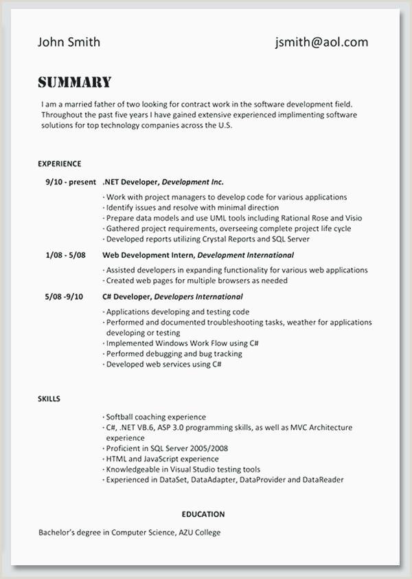 Software Architecture Resume Sample – Salumguilher