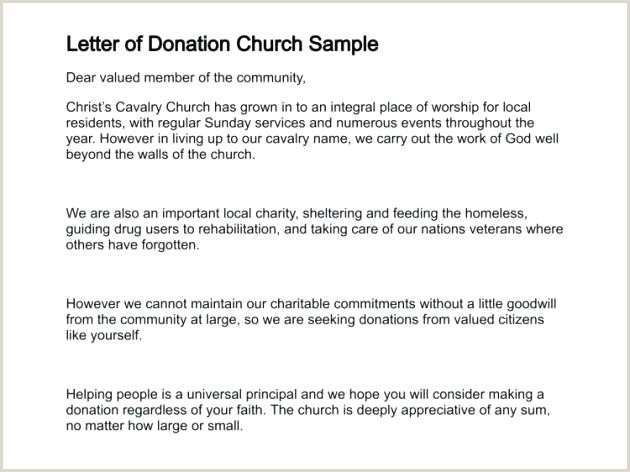 Sample Church Contribution Letter Donation Appeal Letter Template Fundraising solicitation