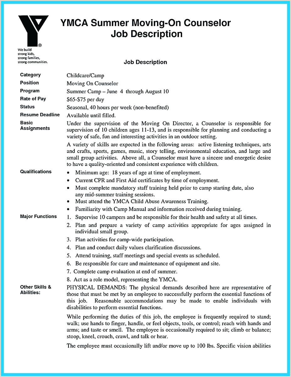 Sample Counselor Resume Resume Youth Counselor Resume