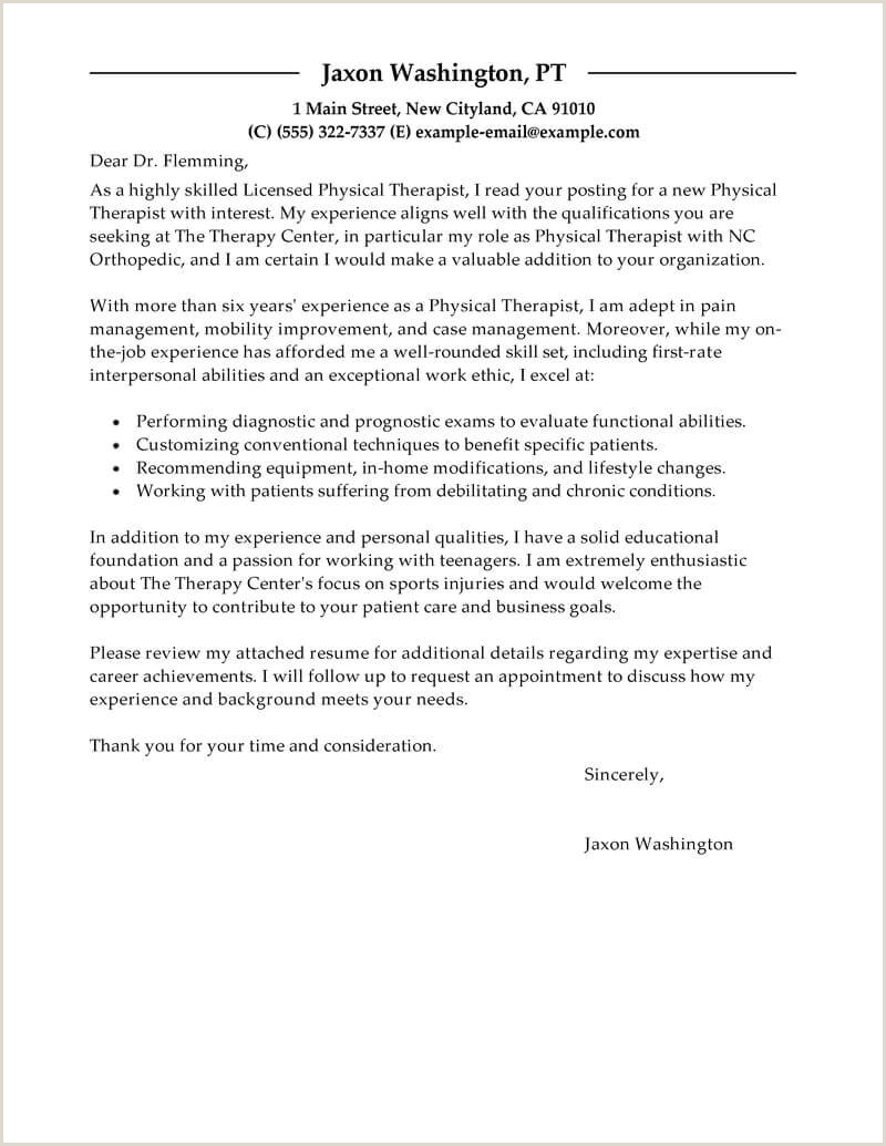 10 resume for physical therapist