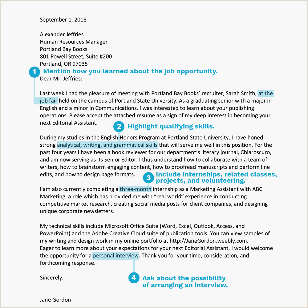 Sample Cover Letter for Secretary Entry Level Cover Letter Examples and Writing Tips