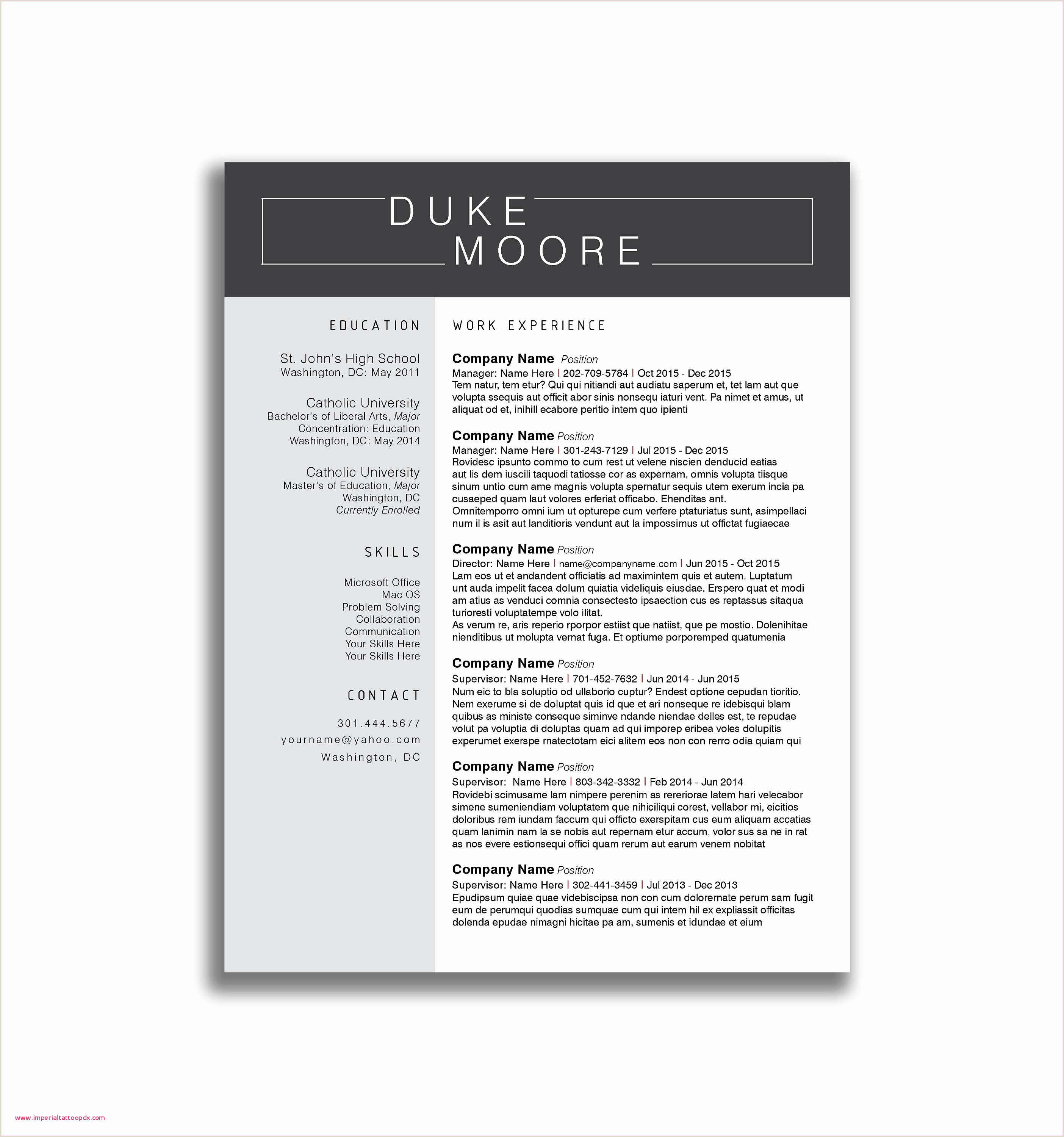 Volunteer Work Resume Example New 24 How to Make A