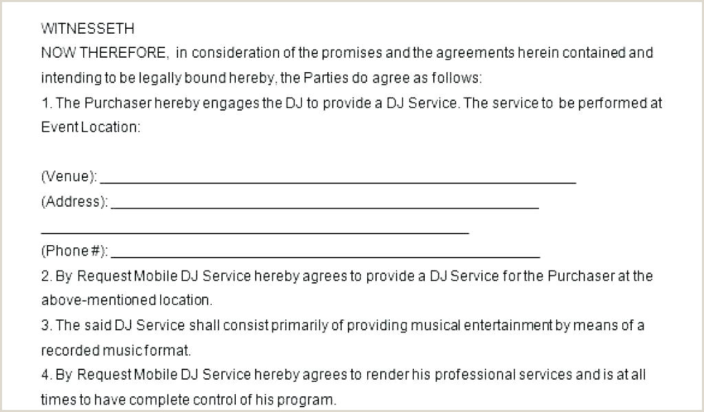 dj service contract template – wsopfreechips