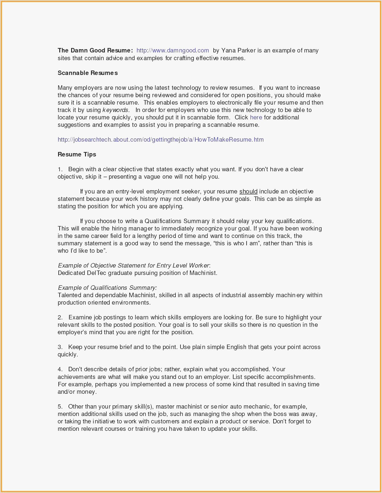 10 Entry Level Social Media Resume Sample