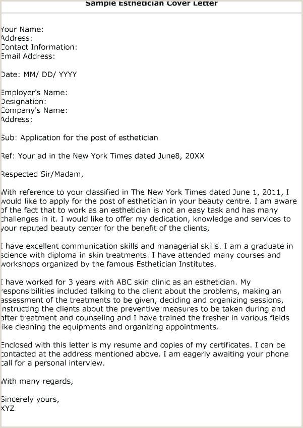 Sample Esthetician Resume New Graduate Resume for Esthetician – Wikirian