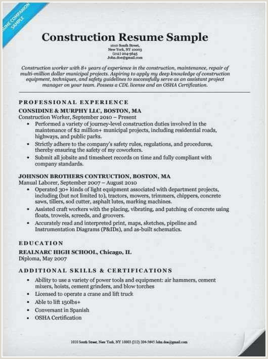 Sample General Laborer Resume Elegant Dollar General Resume Example – 50ger