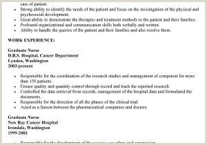 Sample Graduate Nursing Resume Sample Nursing Resume Free Registered Nurse Resume Sample