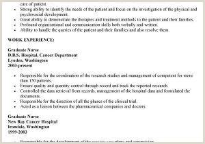 Sample Nursing Resume Free Registered Nurse Resume Sample