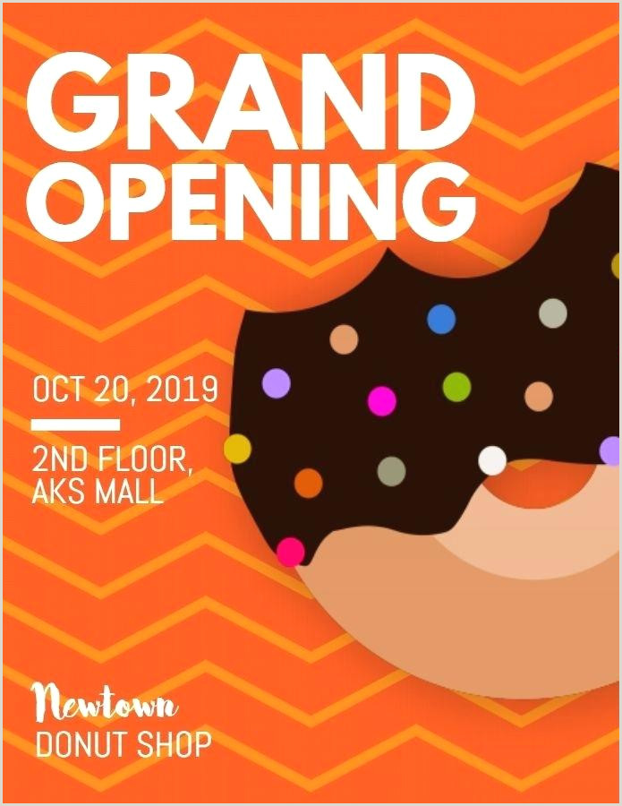 Sample Grand Opening Flyers Store Opening Flyer Template