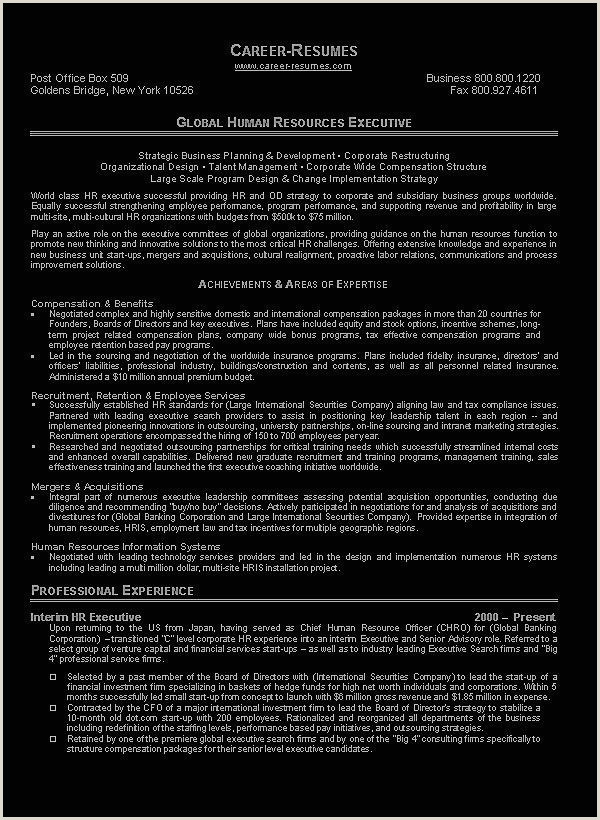 Sample Hr Manager Resume Human Resource Manager Resume Example Sample Hr Manager