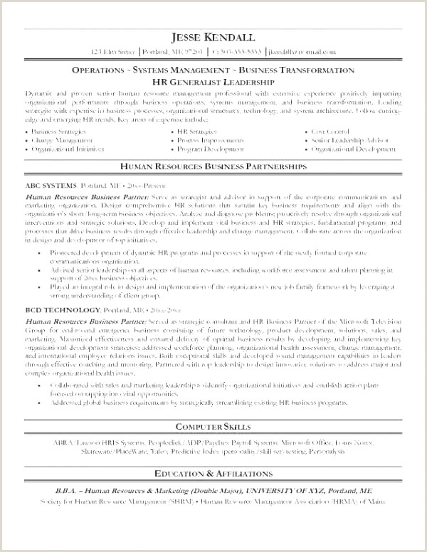 Top Hrm Resume Skills Resume Design