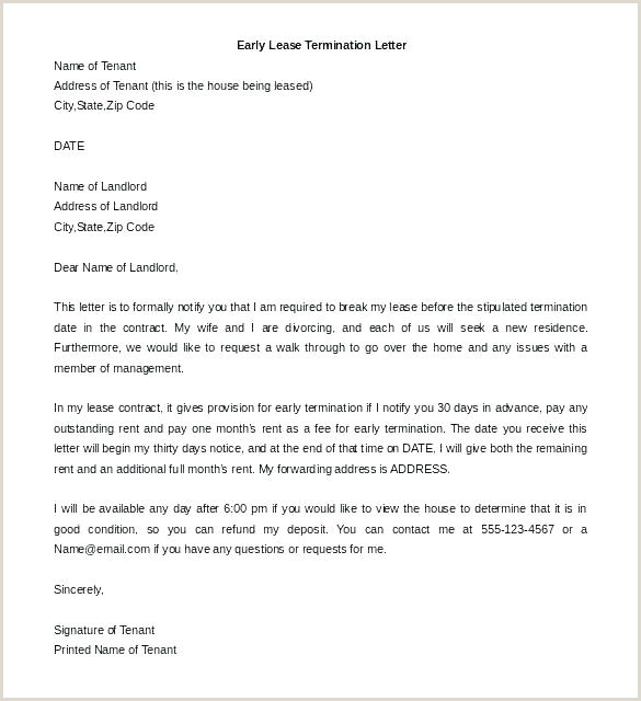 Letter Termination Employment Template Within