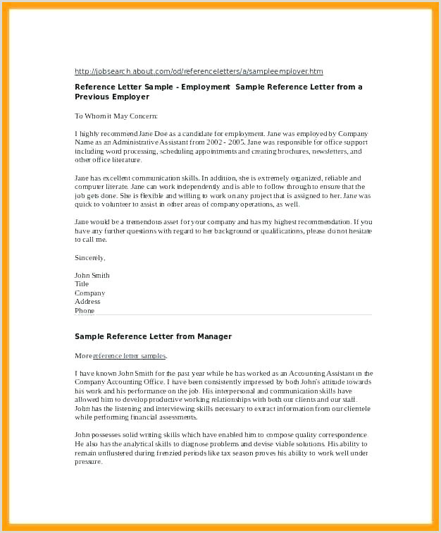 Character Witness Letter For Child Custody Template Re