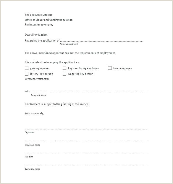 Sample Letter Of Intent for Business Collaboration Contract Letter Of Intent Template