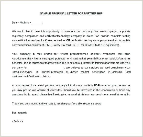 Sample Letter Of Intent for Business Collaboration Proposal Letter Template Collaboration Info Business