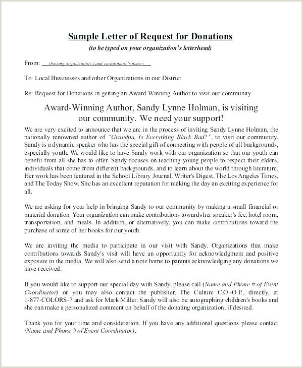 Sample Letter Requesting Donations for Church How to Write A Charity Donation Letter Donation Request