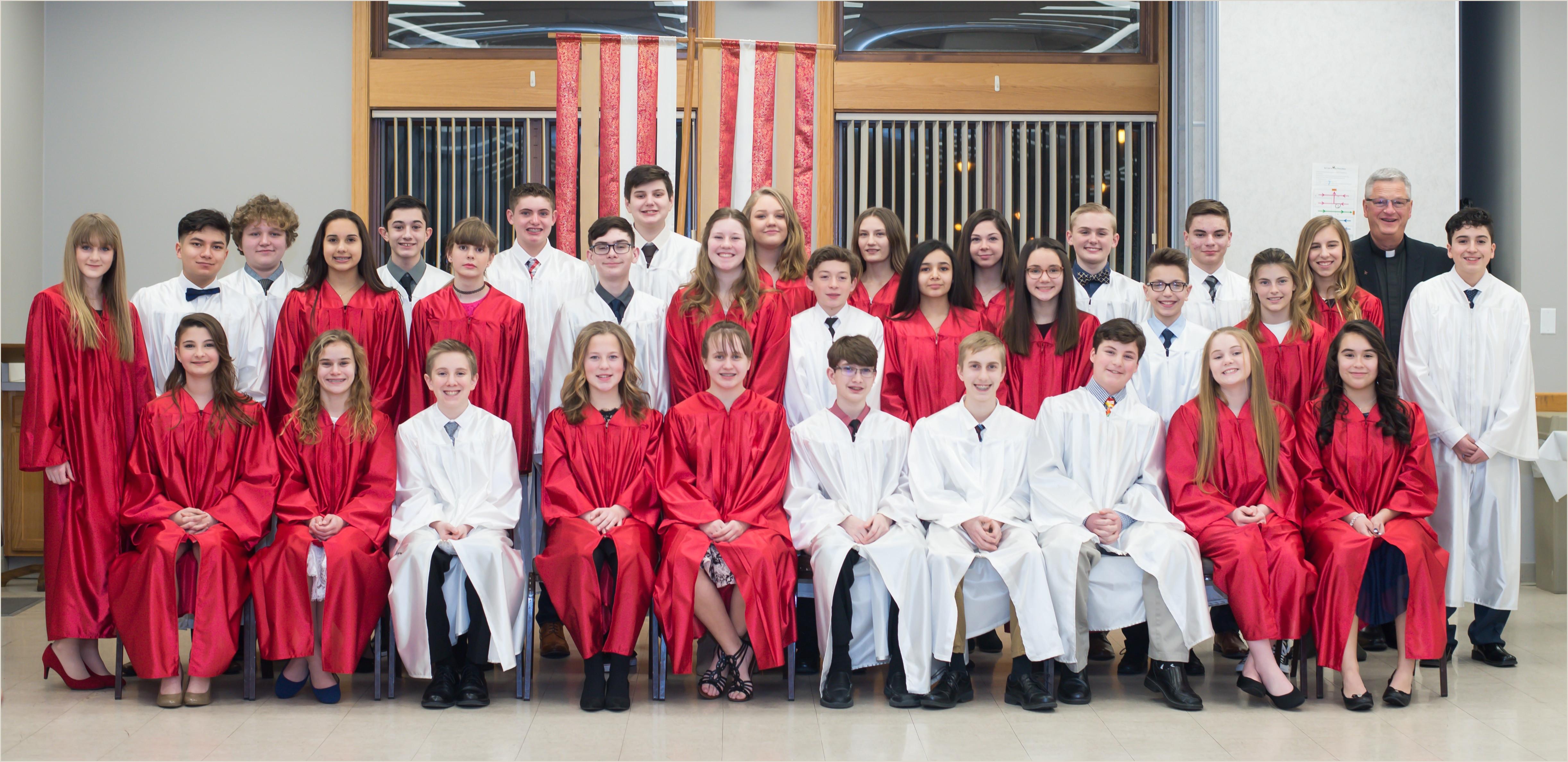 St Ann Catholic Church Confirmation Preparation