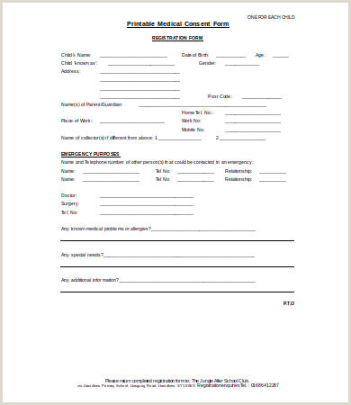 Medical Consent Form 9 Free PDF Word Documents Download