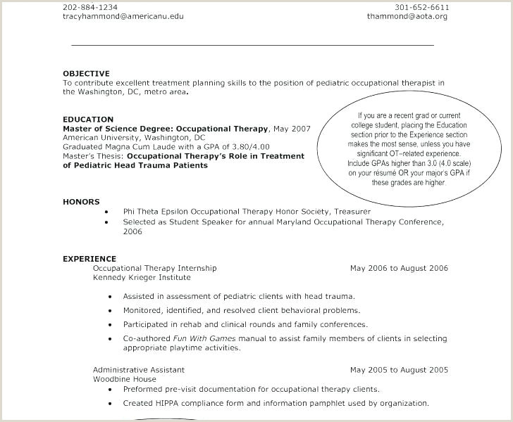 occupational therapy assistant resume – thrifdecorblog